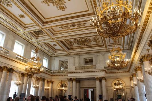 Sala do Trono - Museu Hermitage - São Petersburgo