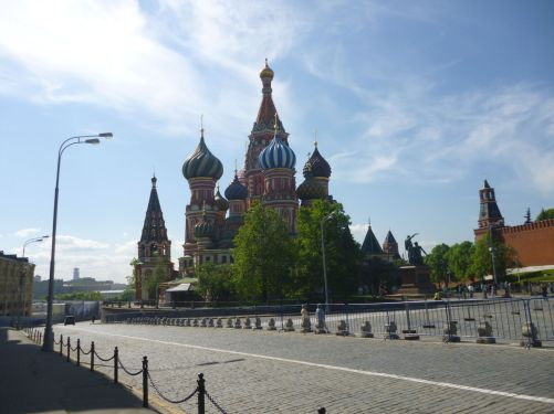 Praça Vermelha - catedral de São Basílio (tarde)